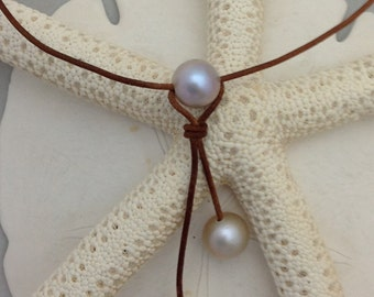 Triple-Drop PEARL Necklace
