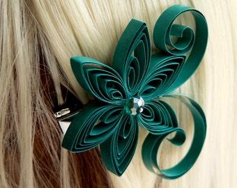 Oasis Wedding Hair Clip, Oasis Wedding Hair Accessory, Oasis Bridal Hair Accessory