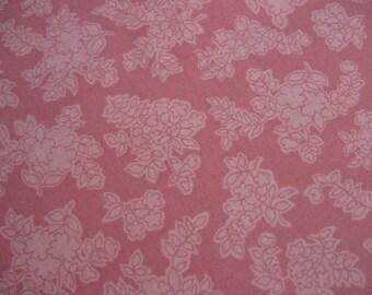 Pink on Pink Fabric 1/2 Yard