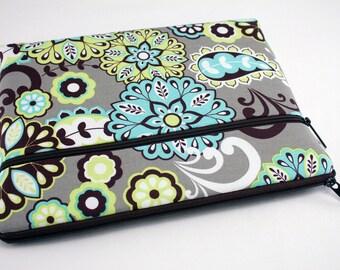 Fabric iPad Air 2 Cover, iPad 4 3 2 1, iPad mini 3 2, Kindle Fire HDX 8.9 7, Pro Surface 3 2 Cover, Galaxy 10.1 7, Nexus 10 7-Rainforest