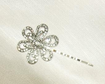 Bridal hair pin,Bridal bobby pin,Rhinestone bobby pin,Bridal Rhinestone bobby pin,Bridesmaids gift ,Costume Hair pin,Fall  holiday wedding,