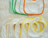 Blank Baby Bibs for Embroidery or Embellishment - Destash
