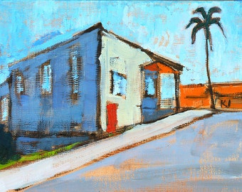 House in Hillcrest-  San Diego Painting