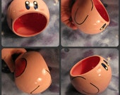 Kirby Ceramic Bowl (Made to Order and Customizable)