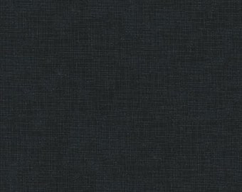 Quilter's Linen in Charcoal by Robert Kaufman, 1 yard
