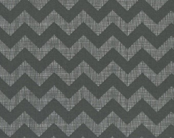 Chevron - Small Textured - Grey - ALL