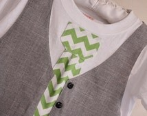 Boys Christmas shirt, Chevron tie, chevron tie shirt, Sibling Christmas outfit