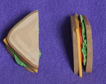 1 half - sandwich doll food for american girl doll
