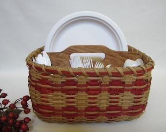 Paper Plate/Silverware Basket-Large