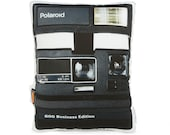 Vintage Polaroid Business Edition  Printed Pillow