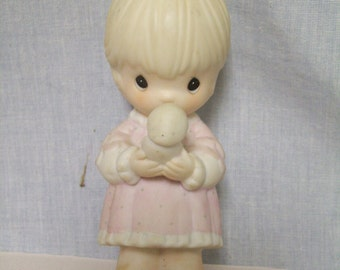 Precious Moments Figurine, Always in His Care, 1990, Limited Edition, Enesco
