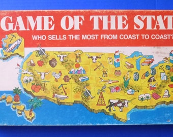 Game of the States board game