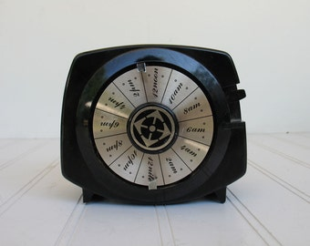 Vintage Mark XII Time-All Automatic Lamp Timer Black