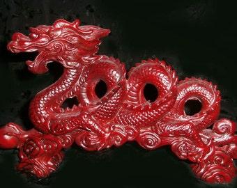 Vintage Dragon Sculpture