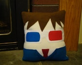 10th Doctor, David Tennant pillow, plush, cushion