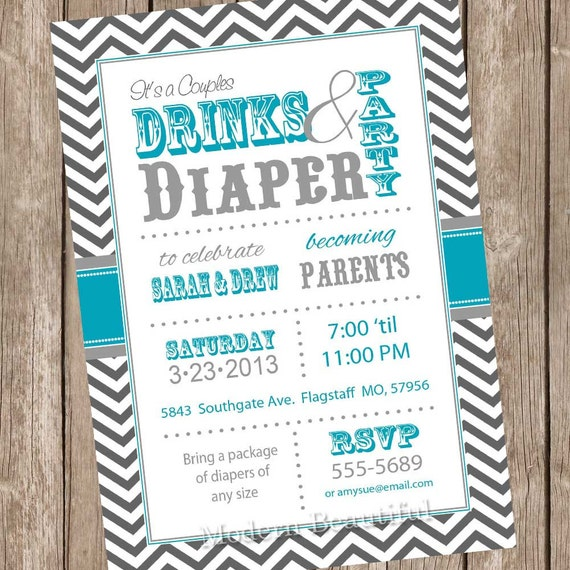 Jack And Jill Invitation Wording as good invitations template