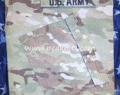 Army Photo Album, Memory Book, Scrapbook - Handmade Repurposed Military MultiCam Uniform Top - You Supply Your Own