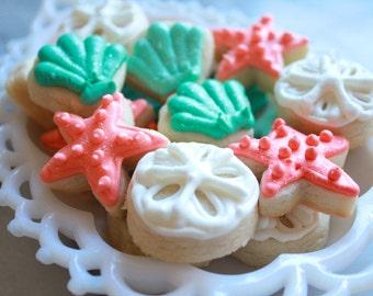 5 Dozen Beach Themed cookie nibbles