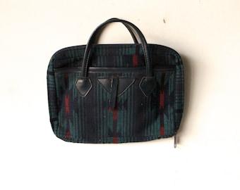 vintage IKAT southwest wallet travel bag