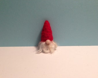 Needle Felted Swedish Tomte - Size Small