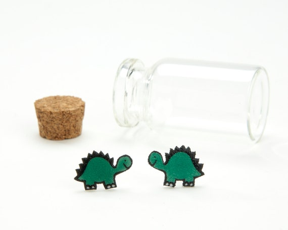 SALE - Dino Earrings