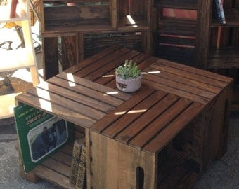Crate Coffee Table (READ LISTING FIRST!)