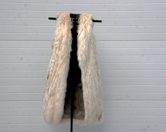 Long Highland Alpaca Fur...vintage..soft and silky....Limited Edition..reserved for Debbie