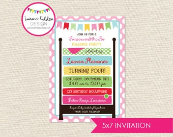 DIY, Princess and the Pea INVITATION ONLY