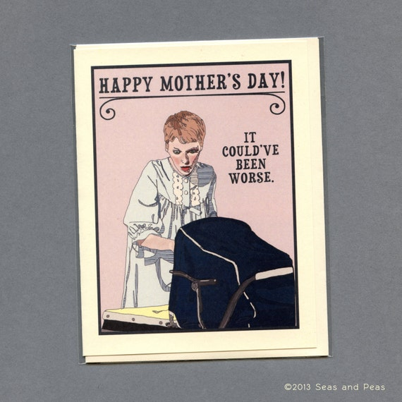 ROSEMARY'S BABY Mother's Day Card