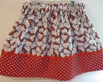 Little Kitty Skirt size 2-7