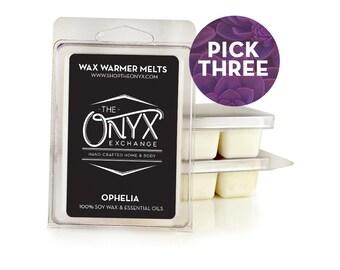 Pick 3 - Soy Wax Warmer Tarts