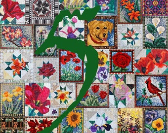 ANY 5 PDF Quilt Patterns