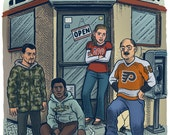 Philly Corner Print