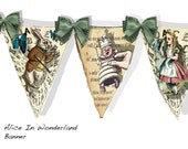 Alice in Wonderland Banner