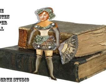 Pride And Prejudice Jane Austen Paper Doll DIY download