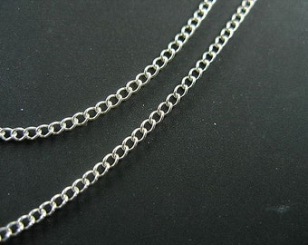 40 inches of 925 Sterling Silver Chain 1.8x2 mm. :th0580
