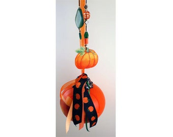 PRICE REDUCED--Pumpkin Wish Ball for Self-Esteem and Personal Power