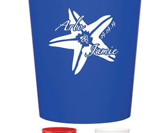 200 Custom Wedding Favor Stadium Cups Personalized Wedding Favors
