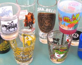 Take 20% off Vintage NINE SHOT GLASS Collection