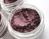 SALE WILD BERRY - Mineral Eyeshadow Mineral Makeup - Pure & Natural Mineral Eye Color Pigment - Noella Beauty Works