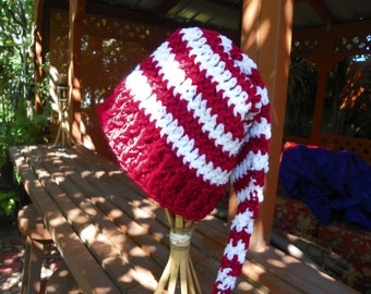 Santa Baby Hat Red and White Perfect for that  Christmas Photo