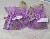 50 wedding favors sachets, lavender sachets, wedding day, lavender sachets, wedding sachets