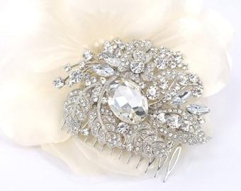 Spring Garden - Austrian Rhinestone Bridal Comb