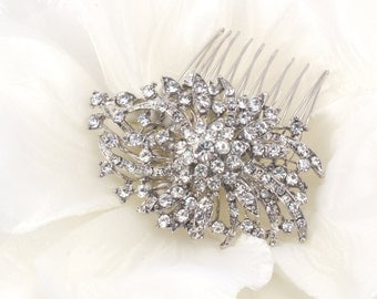 Madison - Crystal Swarovski Rhinestone Bridal Comb