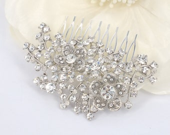 Layla - Crystal Rhinestone Bridal Comb