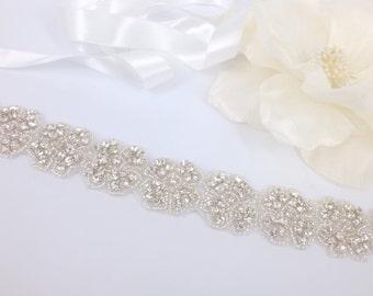 Bella - Vintage Style Rhinestone Crystals Wedding Head Band