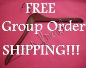 Bride Hanger Personalized for Mrs Wedding Dress - Makes Great Bridesmaid and Bridal Party Gifts