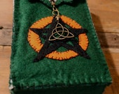 OOAK PENTACLE BLESSING Tarot Bag