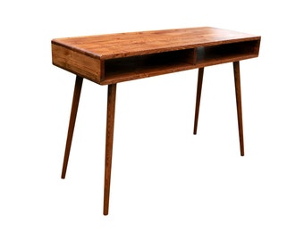 Mid Century Inspired Study Desk - MADE TO ORDER 60 days