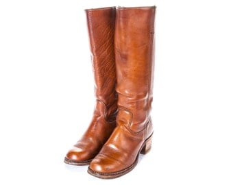 1970's HIPPIE Boot Women's Size 7 .5